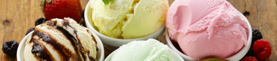 Scooped Hard Ice Cream